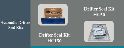 HC150 HC50 HYDRAULIC DRIFTER SEAL KIT