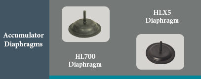 HL accumulator diaphragm