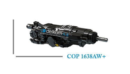 Rock Drill COP 1638AW+
