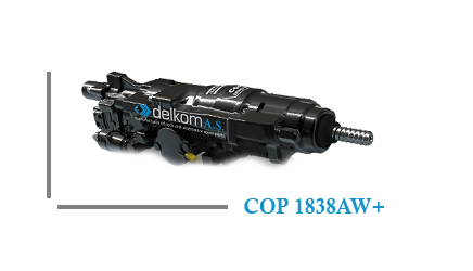Rock Drill COP 1838AW+