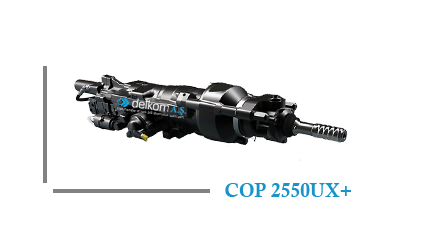 Rock Drill COP 2550UX+