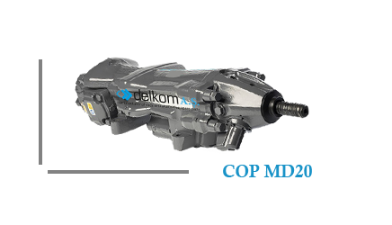 Rock Drill COP MD20