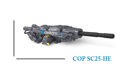Rock Drill COP SC25-HE