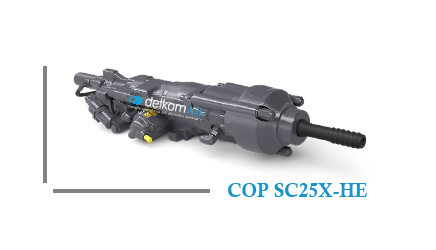 Rock Drill COP SC25X-HE
