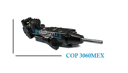 Rock Drill COP 3060MEX
